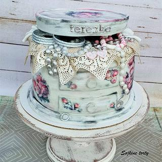 Vintage jewel-box