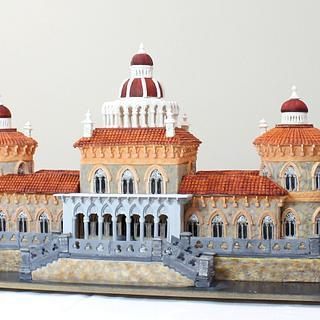 Portugal Wonders in Sugar - Monserrate Palace - Cake by Cláud' Art Sugar