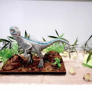 My dinosaur cake