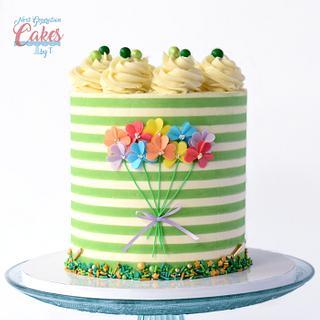 St. Patrick's Day Cake - Cake by Teresa Davidson