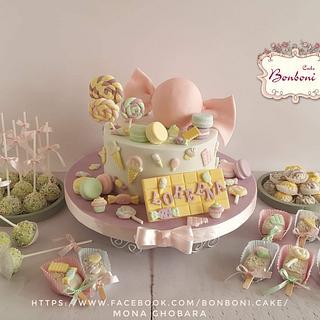 candy cake - Cake by mona ghobara/Bonboni Cake