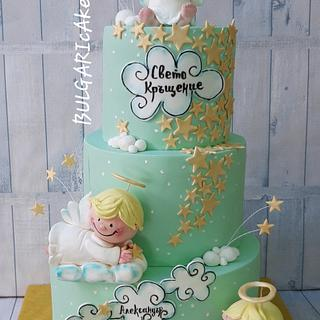 Christening cake  - Cake by BULGARIcAkes