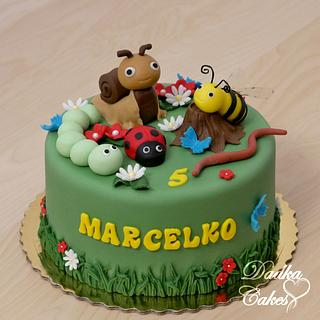From the world of small animals - Cake by Dadka Cakes