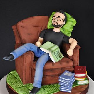 Exhausted teacher - Cake by Bappsiass
