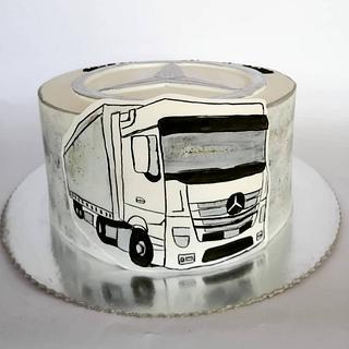 Truck cake