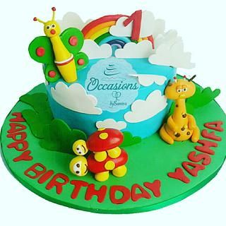 Babytv theme cake🙏 - Cake by Occasions Cakes