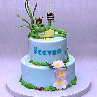 Cake with firecracker  - Cake by Zuzana Bezakova