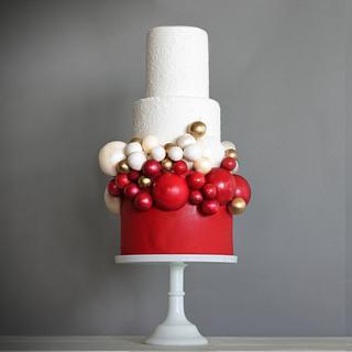 CHOCOLATE SPHERE CAKE  - Cake by Eva Salazar