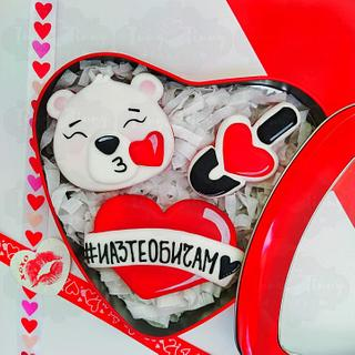 Bear Love ❤️  - Cake by Inny Tinny