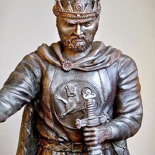 Monument to King Samuel - Cake by FondanEli