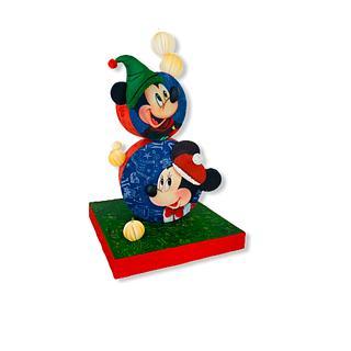 Disney tower cake Minnie mickey