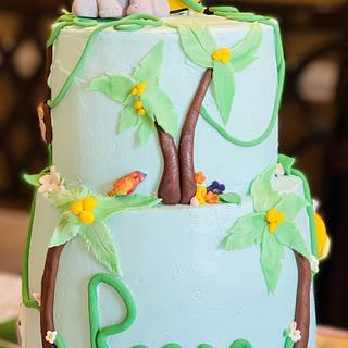 Jungle Cake - Cake by MerMade