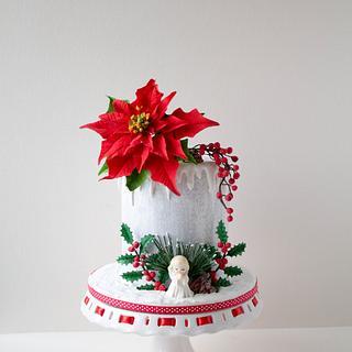 Christmas cake - Cake by Dimi's sweet art