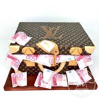 Louis Vuitton Alzer bag cake - Cake by Ana Sabóia de Castro Cake Design