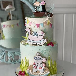 Summer cake :) - Cake by Martina Encheva