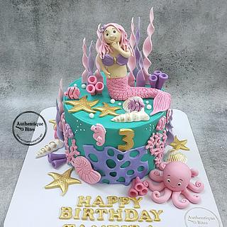 Mermaid Cake - Cake by Authentique Bites by Ekta & Nekta