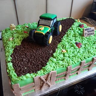 FARMER'S CAKE - Cake by Rena Kostoglou