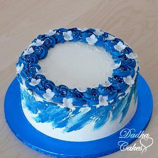 Buttercream cake - Cake by Dadka Cakes