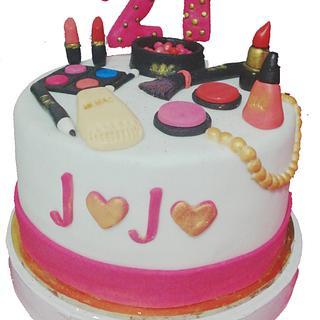 cake Makeup  - Cake by Naro