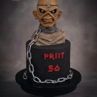 Iron Maiden cake - Cake by Twister Cake Art
