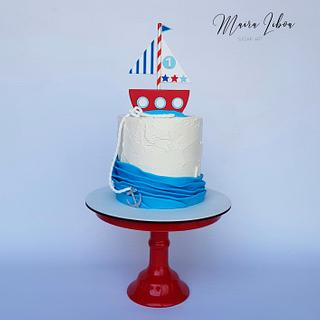 Nauticalutical cake