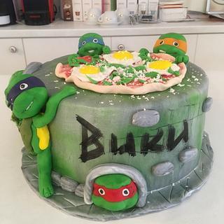 Turtles ninja - Cake by Doroty