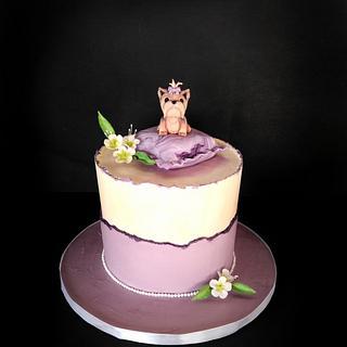 Yorkies for Mimi - Cake by Dari Karafizieva