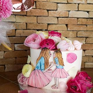 Mother's Day 🌸 💖 - Cake by Silvia Salerno
