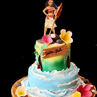 Moana cake  - Cake by Shree
