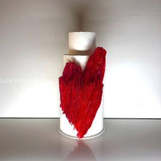 Heart  - Cake by Lucia Simeone