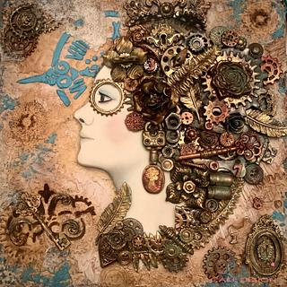 Woman in mind - Steampunk Collaboration 2020