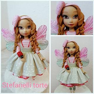 Girl cake topper - Cake by stefanelli torte