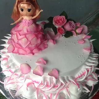 Babies Doll Cake