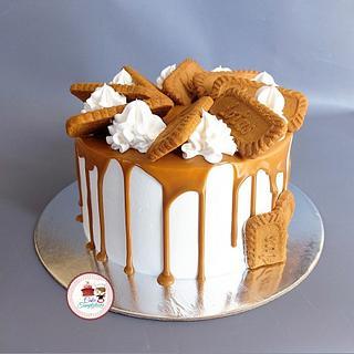 Lotus biscoff cake - Cake by Cake Temptations