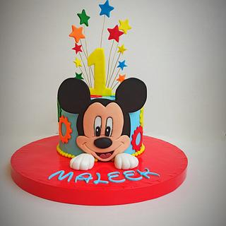 Mickey mouse cake - Cake by Maysa