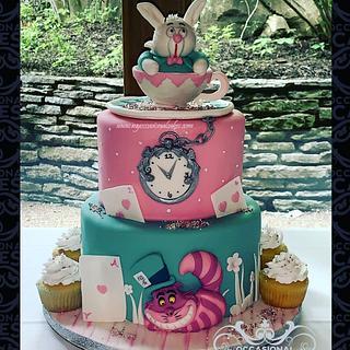 ONE-derland Cake