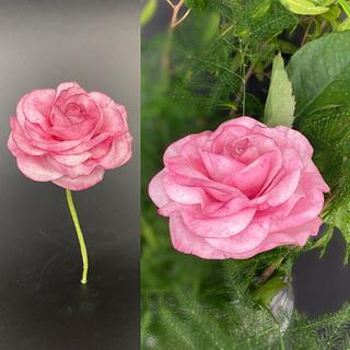 Rose wafer paper