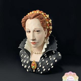 Busto di Lucrezia de' Medici (The Royal-An international Cake Challenge)
