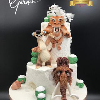 Ice age cake - Cake by Cake Garden