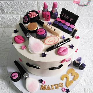 MAKE UP CAKE  - Cake by EmyShalaby