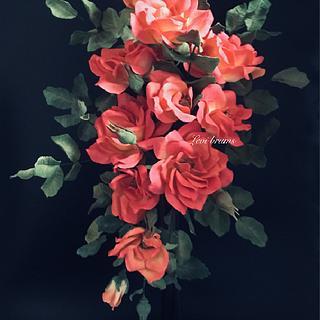 wild roses in sugar 🍃