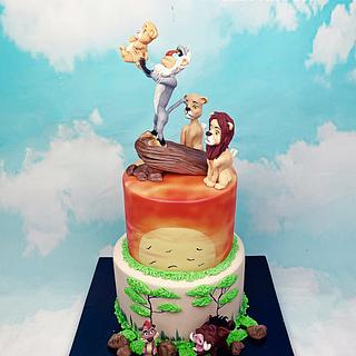 The Lion King  - Cake by Dina's Tortenwelt