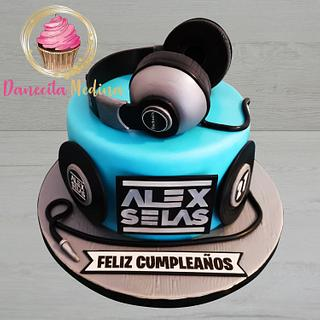 TARTA DJ - Cake by Danecita Medina