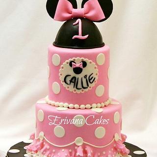 Minnie Mouse Cake - Cake by erivana