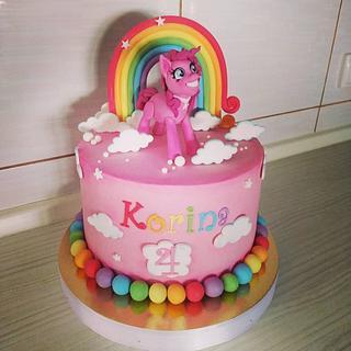 Pinkie pie cake - Cake by Tortalie