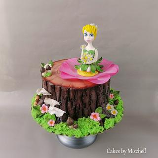 Tinkerbell Cake - Cake by Mischell