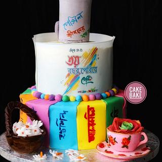Cake for artists - Cake by CakeBake BD