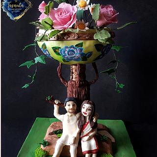 Art of Pottery cake  collaboration - Cake by Tasnuta Cake Artistry ( TASNUTA ALAM)