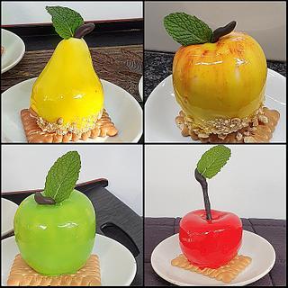 Fruit shaped desserts