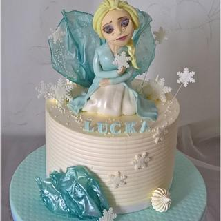 Frozen cake - Cake by Tortolandia